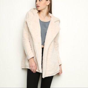 Brandy Melville faux fur jacket